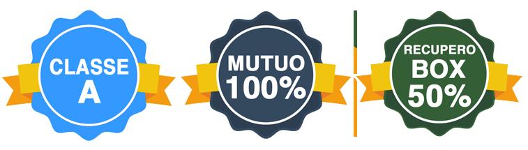 Classe A - Mutuo 100% - Recupero Box 50%
